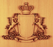 ręk żakieta korony jednorożec Obrazy Royalty Free