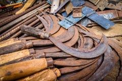 Ręk kosy dla sprzedaży Fotografia Stock