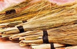 Ręk muśnięcia robić od agaw włókien przy rynkiem w Marrakech Fotografia Stock