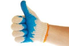 ręk rękawiczkowe aprobaty Zdjęcia Stock