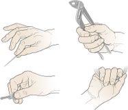ręk rysunkowi narzędzia Zdjęcia Stock