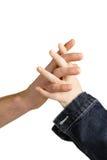 ręk trzymać Zdjęcie Stock