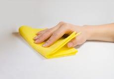 ręka łachman Fotografia Stock