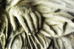 ręka abstrakcjonistyczny kamień Obraz Royalty Free