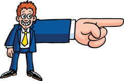 ręka biznesowy mężczyzna s Obrazy Stock