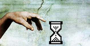 ręka boga Obrazy Royalty Free
