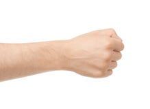 Ręka chwyt coś Zdjęcie Stock