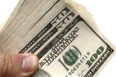 ręka dolarowy pieniądze obrazy royalty free