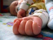 ręka dziecka obraz stock