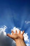 ręka energetyczna obrazy royalty free