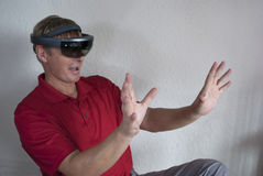 Ręka gesty wskazuje jadącą interakcję, jadący, Obraz Royalty Free