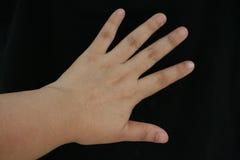 Ręka i palce skupiamy się z wiele stylowymi akcjami zdjęcie royalty free