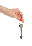 ręka klucz Zdjęcia Royalty Free