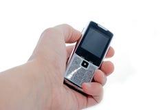 ręka komórkę Zdjęcie Stock