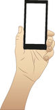 ręka komórkę Royalty Ilustracja