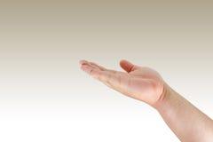 ręka mężczyzna Obraz Stock
