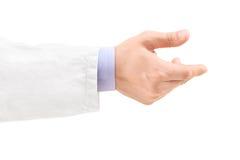 Ręka męska lekarka Zdjęcie Stock