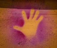 Ręka Malująca Zdjęcie Stock