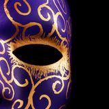 Ręka malująca maska Fotografia Stock