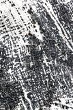 Ręka malująca textured brezentowego tło w czarny i biały kolorze Obrazy Royalty Free