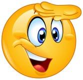 Ręka na czoła emoticon Obraz Royalty Free