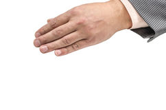 Ręka, nadgarstek, palce, kciuk, phalange, odizolowywający, tło, gwóźdź, emocje zdjęcia royalty free