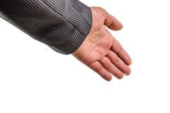Ręka, nadgarstek, palce, kciuk, phalange, odizolowywający, tło, gwóźdź, emocje obraz stock