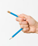 ręka ołówek Zdjęcie Stock