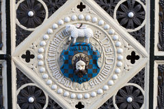ręka płaszcza bramy Halifax sali kawałek Zdjęcie Stock
