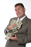 ręka pieniężna Obraz Stock