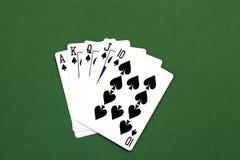 ręka pokera. zdjęcie royalty free