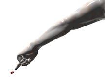 ręka przedłużyć ręki target384_0_ Obraz Stock
