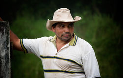 ręka rancho przystojny męski Zdjęcia Stock