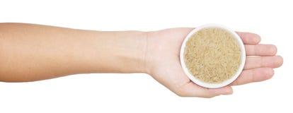 ręka ryż Obrazy Stock