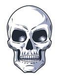 Ręka Rysująca czaszka z Złym spojrzeniem royalty ilustracja