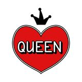 Ręka rysująca ilustracyjna królowa Zdjęcie Royalty Free