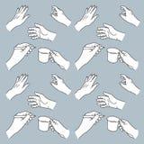 Ręka rysująca wręcza ilustrację Zdjęcie Royalty Free