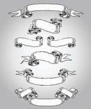 Ręka Rysujący ślimacznica set ilustracja wektor