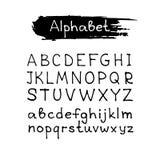 Ręka rysujący alphabet-2 Fotografia Stock