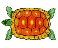 Ręka rysujący atramentu wzór Kolorystyki książki kolorystyka dla dorosłej strony dla kolorystyki książki: bardzo relaksujący i ci Obraz Stock