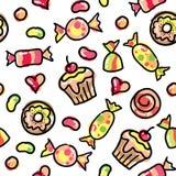 Śmieszni cukierki Obrazy Royalty Free