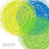 Ręka rysujący kolorowy tło Zdjęcia Royalty Free