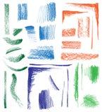 Ręka rysujący kształty Zdjęcie Stock