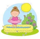 Lato sezon ilustracji