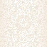 Ręka rysujący ornamentacyjny koronka wzór dla projekta rocznika karty, przyjęcia weselnego zaproszenie zdjęcie stock