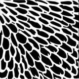 Ręka rysujący paskujący wzór czarny white Projektów elementy rysujący uderzenia Zdjęcie Royalty Free