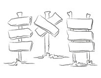 Ręka rysujący pointery Obraz Stock