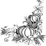 Ręka rysujący szablon z baniami Zdjęcie Royalty Free