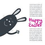 Ręka rysujący Wielkanocny tło ilustracji