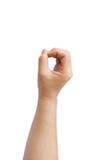 Ręka szyldowy język Zdjęcie Stock